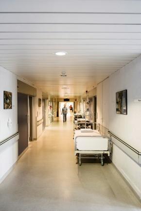 ziekenhuisgang