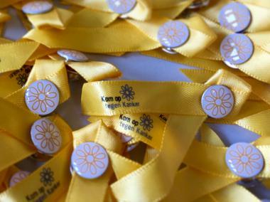 Gele lintjes Dag tegen Kanker