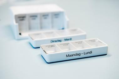 Pillendoosjes om per dag je medicatie in klaar te zetten
