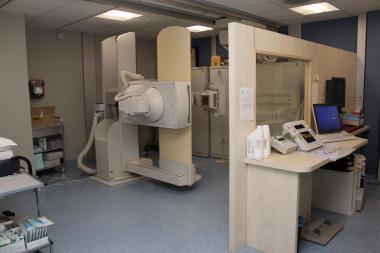 Een toestel om röntgenfoto's te maken