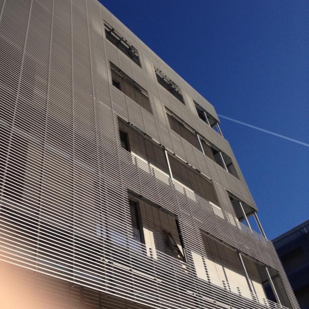 Foto van gevel vleugel met patiëntenkamers