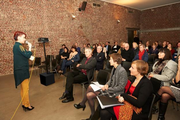 Zicht op de zaal tijdens symposium Baila'R van 2013