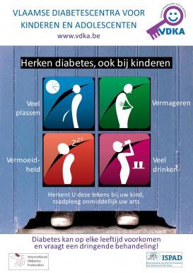 Herken diabetes, ook bij kinderen
