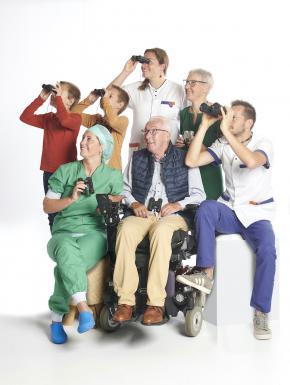 Patiënten en medewerkers kijken hoopvol naar nieuwe ziekenhuis