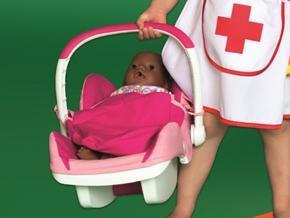Foto meisje van 5 in verpleegsterpakje