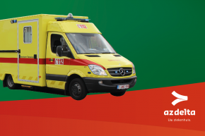 Foto van ambulance